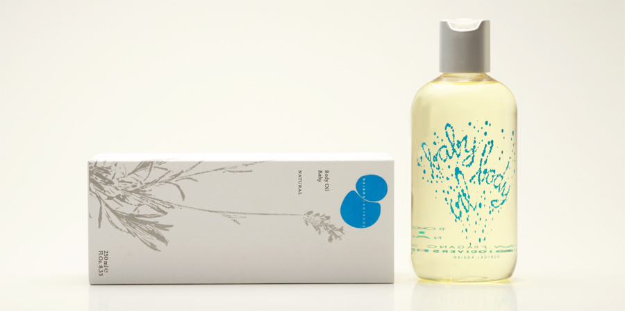 Baby body oil, Natural
