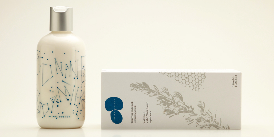 Tonifying body milk, with Honeycomb, Natural & Organic